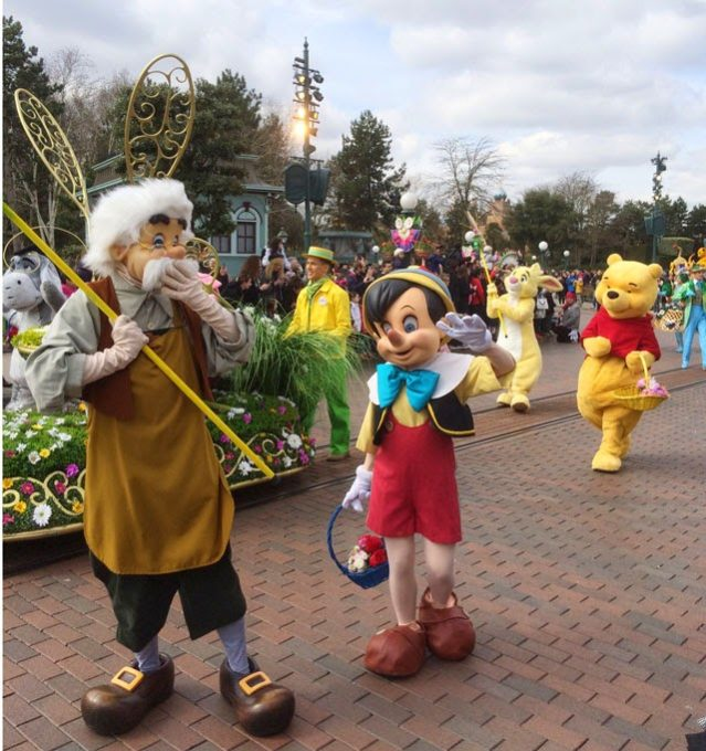 Pariisin Disneyland paraati
