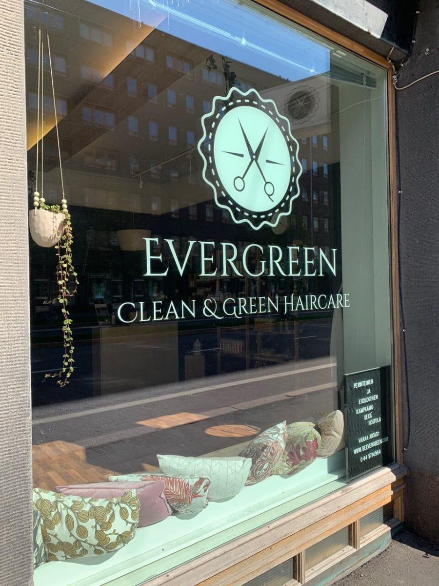 ekokampaamo evergreen