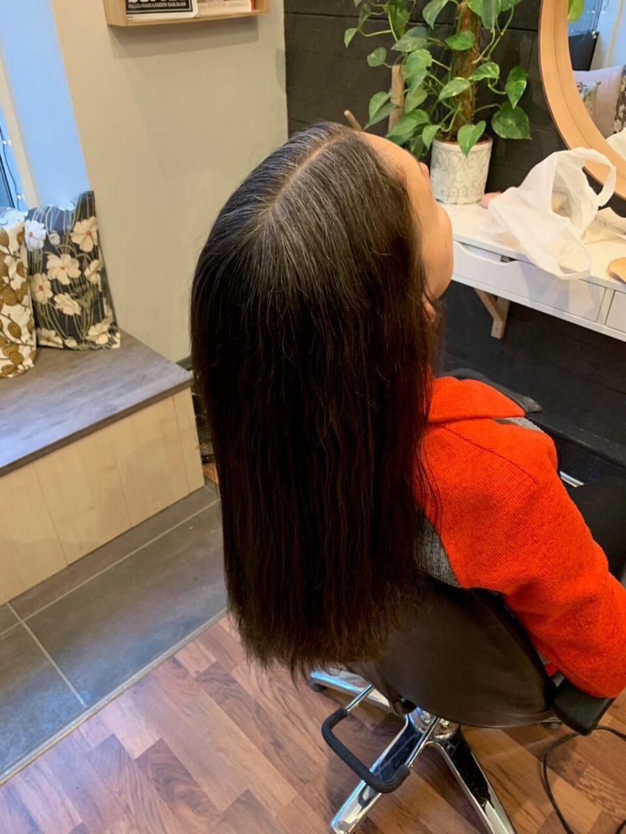 harmaantuvat hiukset