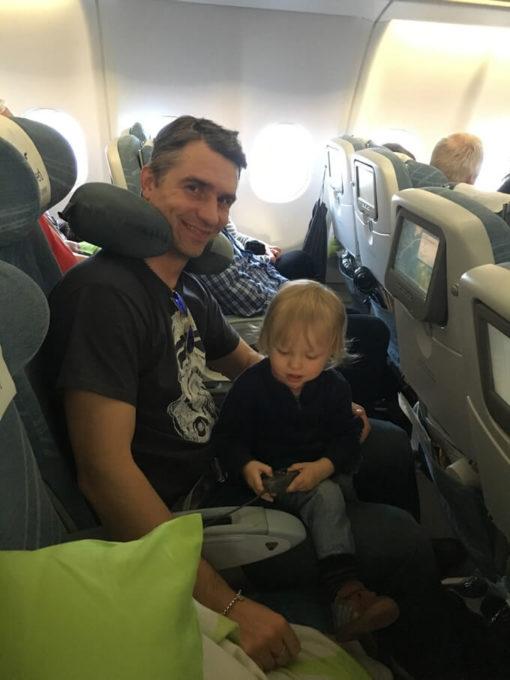matkustaminen lasten kanssa