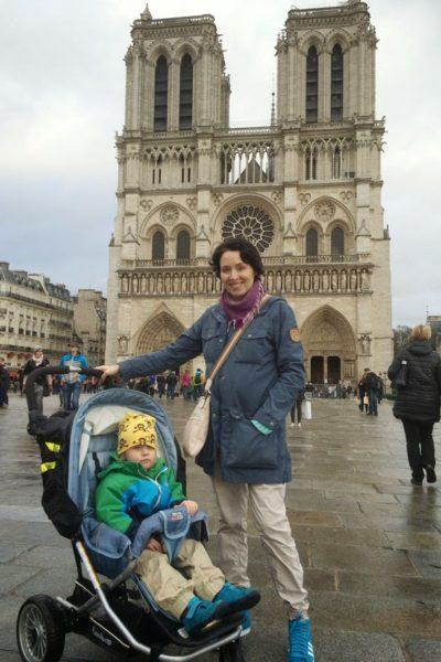 Pariisissa lasten kanssa