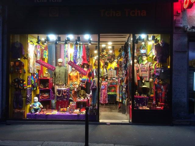 Hippikauppa Pariisissa
