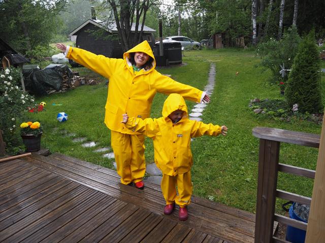 Zipline Rain Jacket, nuorten ulkoilutakki