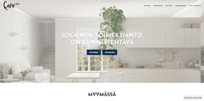 yrityksen nettisivut